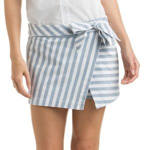 Coast side Stripe Vineyard Vines Crossover Skort